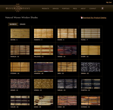 The Woven Company Website
